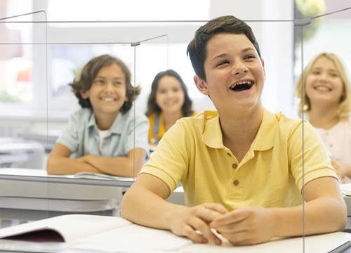 Mamparas para Colegios