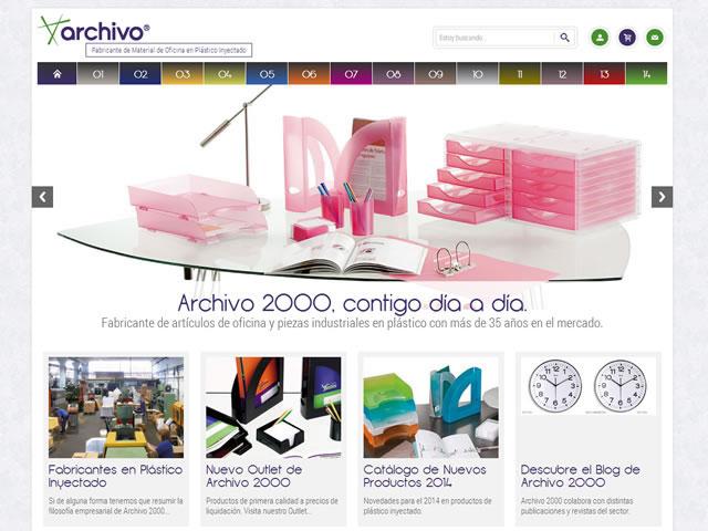 Nuevo diseño en la web de Archivo 2000
