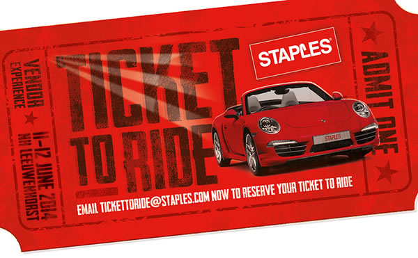 Convención de Staples en Holanda. Staples Ticket to Ride Vendor Summit