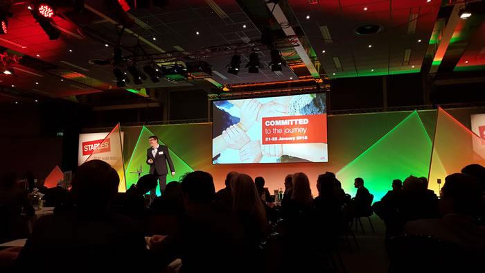 Convención de Staples en Holanda 2015