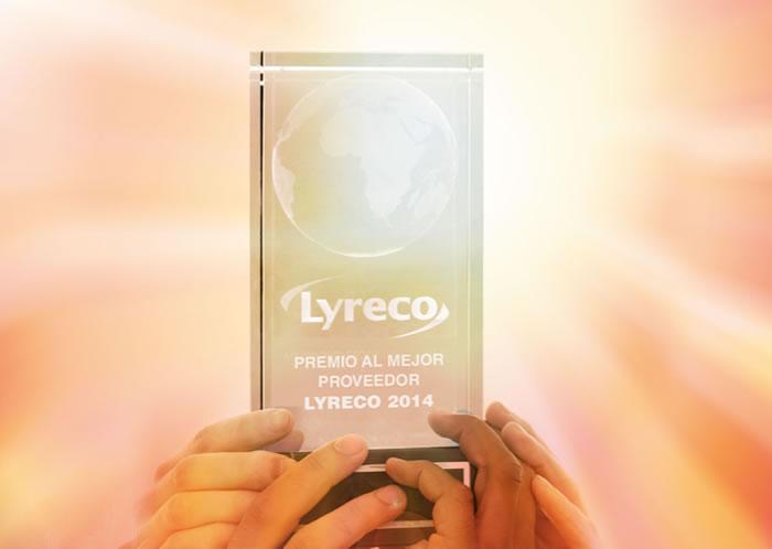 Archivo 2000 gana el premio Mejor proveedor 2014 según Lyreco Iberia