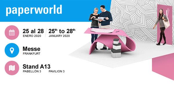 Archivo 2000 estará presente en la nueva edición Paperworld 2020