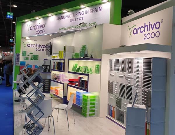 Archivo 2000 estuvo presente en la Feria internacional Paperworld 2020