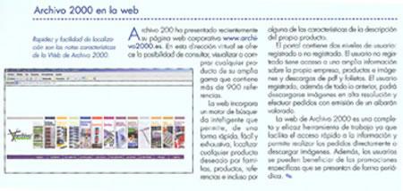 La web de Archivo2000 referenciada en la revista Stylo