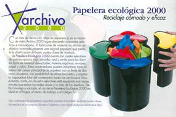 Papelera ecológica Archivo2000