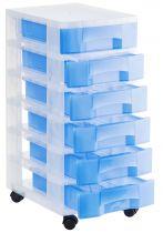 Torres de Almacenaje 1006R TL Azul Traslúcido