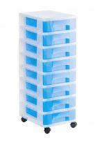 Torres de Almacenaje 1008R TL Azul Traslúcido