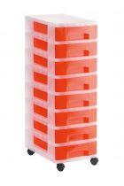 Torres de Almacenaje 1008R TL Rojo Traslúcido