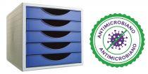 Complementos de Oficina Antimicrobianos 4005AM Azul