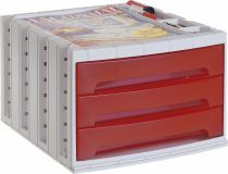 ArchivoTec Serie 6000 6003 TL Rojo Traslúcido