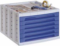 ArchivoTec Serie 6000 6006 TL Azul Traslúcido