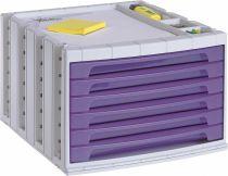 ArchivoTec Serie 6000 6006 TL Malva Traslúcido