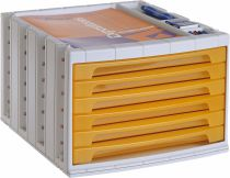 ArchivoTec Serie 6000 6006 TL Naranja Traslúcido