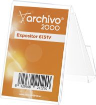 Expositores Multiusos Sobremesa 6151V TP Cristal Transparente