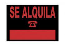 Señalética 6168 Negro