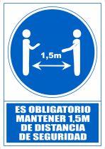 Señalética 6173-15 Azul Señaléctica