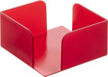 Portanotas 801 TL Rojo Traslúcido