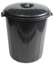 Contenedores de reciclaje DAP06006 Negro