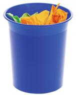 Papeleras de Plástico 2002 Azul