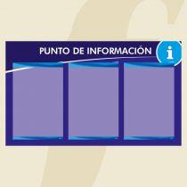 Posterfix PFPI3A4 Azul