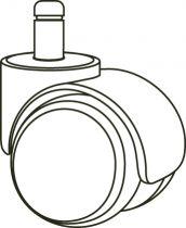 Accesorios para Sillas 6450JRFR Negro