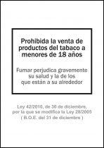 Señales 6175-01 Negro
