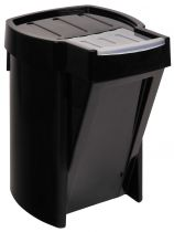 Papeleras Compactas RUPCB32 Negro