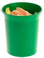 Papeleras de Plástico 2002 Verde