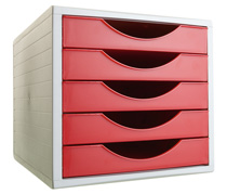 ArchivoTec Serie 4000 4005 Rojo