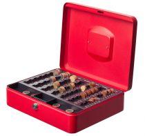 Cajas y bandejas portaeuros 7405 Rojo