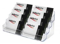 Portatarjetas DE70801 TP Cristal Transparente