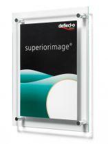 Expositores Murales (con borde biselado) DE691090 TP Cristal Transparente