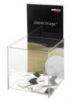 Huchas, Buzones y Urnas DE66001 TP Cristal Transparente