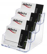 Portatarjetas DE70841 TP Cristal Transparente
