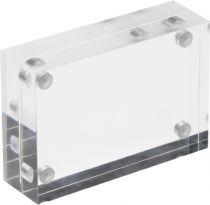 Punto de Venta (bloques magnéticos) DEMHBC11-30 TP Cristal Transparente