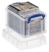 Cajas de Almacenaje RU3 TP Cristal Transparente