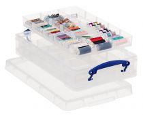 Cajas con Compartimentos Interiores RU4-2X15 TP Cristal Transparente