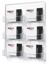 Portatarjetas DE70601 Cristal Transparente