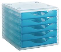 ArchivoTec Serie 4000 4005 TL Azul Mar Traslúcido