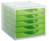 ArchivoTec Serie 4000 4005 TL Verde Kiwi Traslúcido