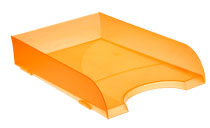 Bandejas Apilables 745 TL Naranja Traslúcido