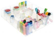 Bandejas para Cajas RUB12-LGTRAY12C Cristal Transparente