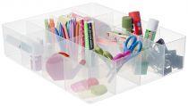 Bandejas para Cajas RUB16-LGTRAY16C Cristal Transparente