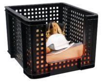Cajas recicladas RUOF35 Negro