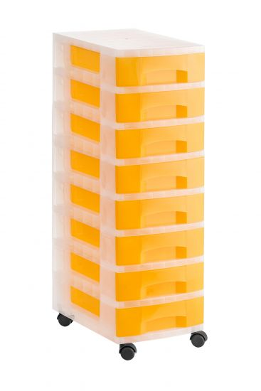 Torres de Almacenaje 1008R TL Naranja Traslúcido