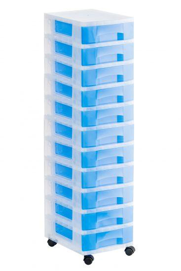 Torres de Almacenaje 1011R TL Azul Traslúcido