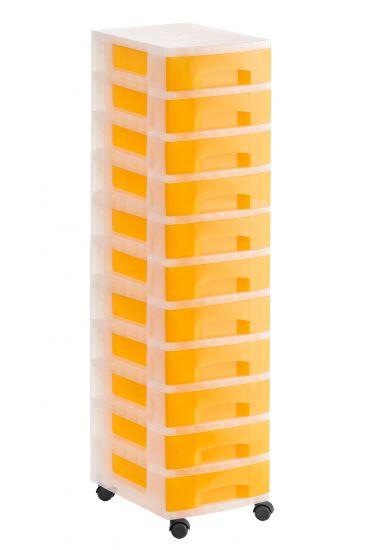 Torres de Almacenaje 1011R TL Naranja Traslúcido