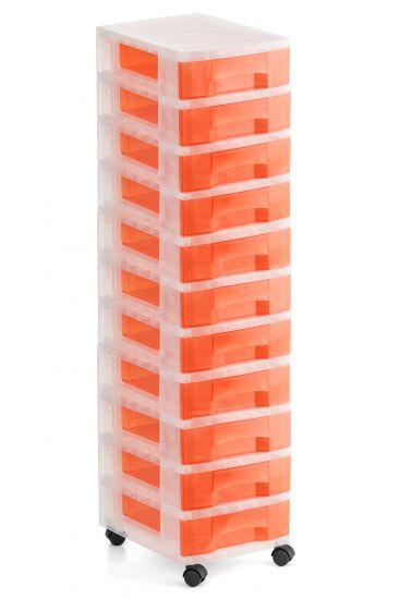 Torres de Almacenaje 1011R TL Rojo Traslúcido