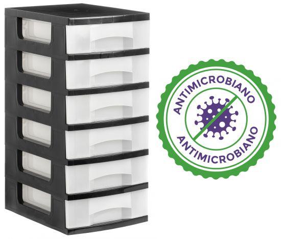 Complementos de Oficina Antimicrobianos 1106AM TL Cristal Traslúcido