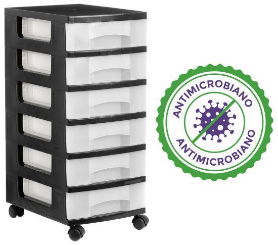 Complementos de Oficina Antimicrobianos 1106AMR TL Cristal Traslúcido